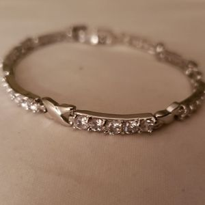 Diamond Infinity Tennis Bracelet